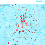 Soundmap van Brussel