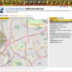Soundmap van Londen