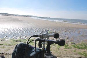 De Noordzee bij Domburg, microfoonopstelling3